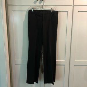 Black Wide Leg Trouser Pant